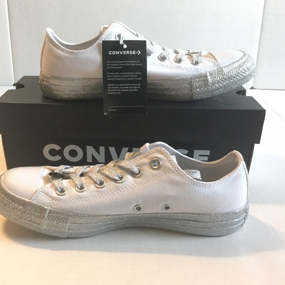 Converse X Miley Cyrus Chuck taylor all star white 7c8a2f574722